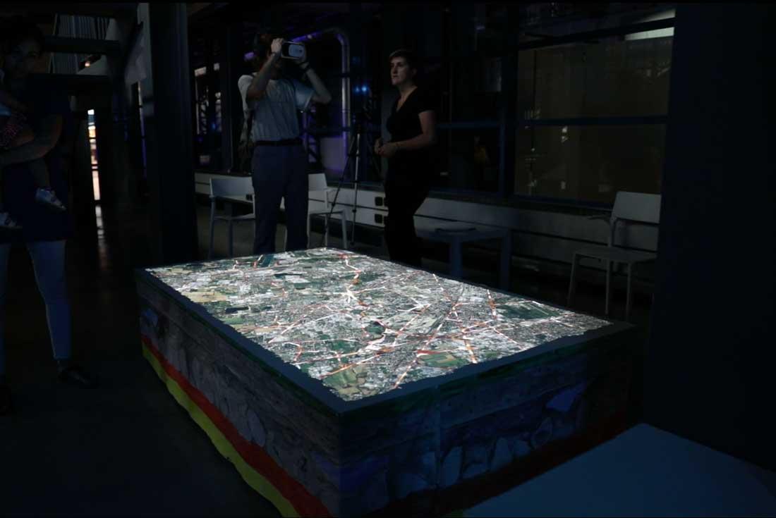 Lambro da Tavolo Video Mapping Terminus